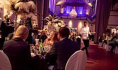 Karlsruhe Palazzo Halle NEU: Palazzo Gourmet unter monatlich welchselnden Themen:  Juni - Juli 2020: The Great Gatsby  /  August: Soirée Blanche  /  September: La Pasión del Flamenco  /  Oktober: Bayrischer Abend  /  ab November: Out Of Africa