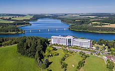 Zeulenroda-Triebes: Bio-Seehotel Zeulenroda - Aussenansicht