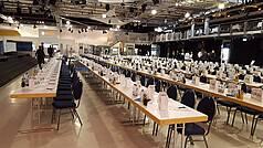 Crailsheim Hangar, Die Eventlocation Halle Konferenz