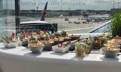 Hebeis Events - Buffet - Flughafen
