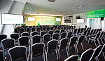 Südtribüne Ebene 3 Tagung Kinobestuhlung mit großer Bühne