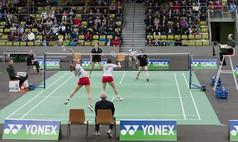 Sindelfingen Glaspalast Badminton