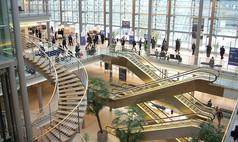 Leipzig Leipziger Messe Das Congress Center Leipzig - Innenansicht