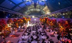 Leipzig Leipziger Messe Veranstaltung in der Glashalle