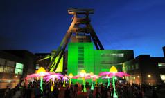 """Essen UNESCO-Welterbe Zollverein Veranstaltung """"Extraschicht"""" auf dem Aussengelände"""