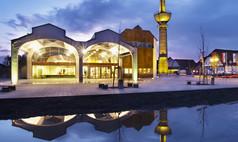 Lengerich Gempt-Halle Lengerich Gempthalle außen