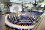 Ehemaliger Plenarsaal in der Eventlocation World Conferenz Center Bonn