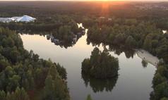 Bispingen Center Parcs Bispinger Heide Übersicht vom Park