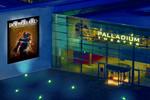 Palladium Theater in Stuttgart stimmungsvolle Aussenansicht