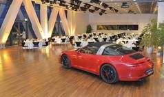 Stuttgart Porsche Museum Beispiel Bankettbestuhlung