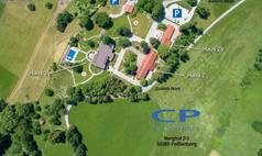 Peißenberg CP Location - Gut Ammerhof Luftaufnahme