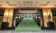 Baden-Baden Kurhaus Baden-Baden Unteres Foyer - Treppenaufgang
