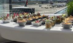 Hebeis Events Buffet - Flughafen