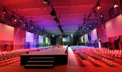 Essen Grand Hall UNESCO Welterbe Zollverein Tagung mit Laufsteg