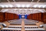 Für Kongresse und große Tagungen, für Abendevents, Kick-Off und Mitarbeiterveranstaltungen ist der Große Saal im CongressCentrum Pforzheim CCP ideal geeignet und enorm anpassbar.