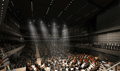 München Gasteig HP8 Isarphilharmonie im Gasteig HP8 - © gmp Architekten