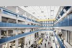 Die denkmalgeschützte Halle E im Gasteig HP8 - © gmp Architekten