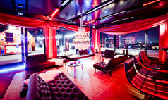 München upside east Lounge auf level 10