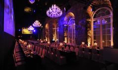 Dresden Kurländer Palais Galabestuhlung im Festsaal