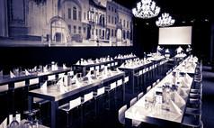 Dresden Kurländer Palais Festsaal mit Stehtischbrücken